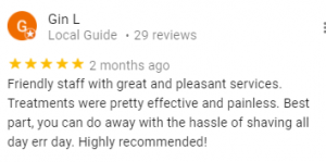 Review: Friendly staff with great and pleasant services